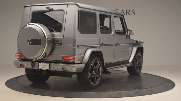 Used 2016 Mercedes Benz G-Class G 63 AMG for sale Sold at Maserati of Greenwich in Greenwich CT 06830 7
