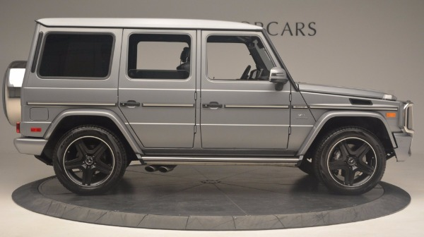 Used 2016 Mercedes Benz G-Class G 63 AMG for sale Sold at Maserati of Greenwich in Greenwich CT 06830 9