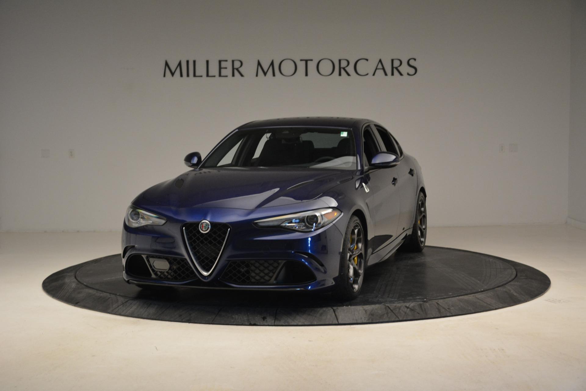 Used 2017 Alfa Romeo Giulia Quadrifoglio for sale Sold at Maserati of Greenwich in Greenwich CT 06830 1