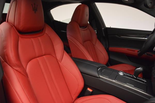 New 2017 Maserati Ghibli SQ4 for sale Sold at Maserati of Greenwich in Greenwich CT 06830 28