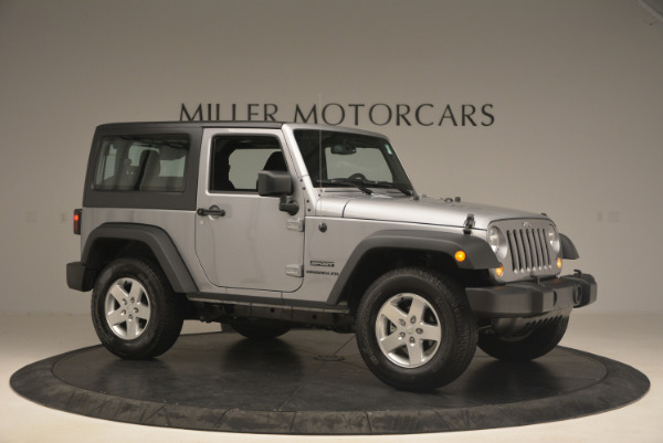 Used 2015 Jeep Wrangler Sport for sale Sold at Maserati of Greenwich in Greenwich CT 06830 10