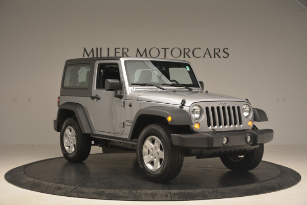 Used 2015 Jeep Wrangler Sport for sale Sold at Maserati of Greenwich in Greenwich CT 06830 11