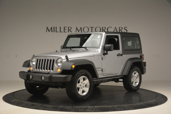 Used 2015 Jeep Wrangler Sport for sale Sold at Maserati of Greenwich in Greenwich CT 06830 2