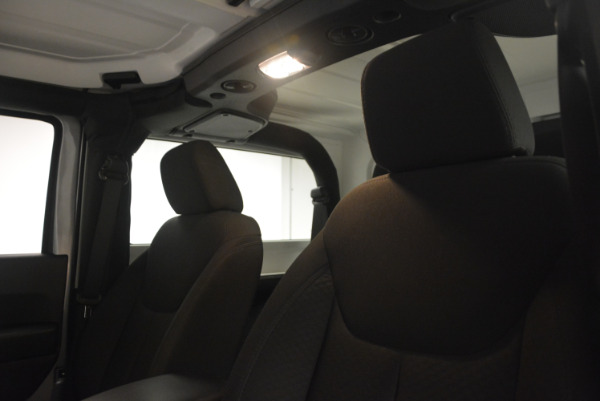 Used 2015 Jeep Wrangler Sport for sale Sold at Maserati of Greenwich in Greenwich CT 06830 20