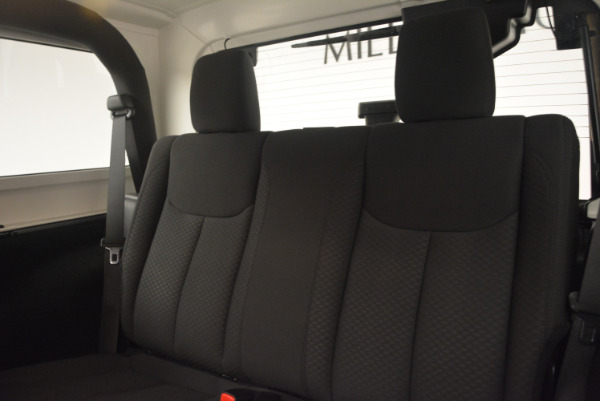 Used 2015 Jeep Wrangler Sport for sale Sold at Maserati of Greenwich in Greenwich CT 06830 24