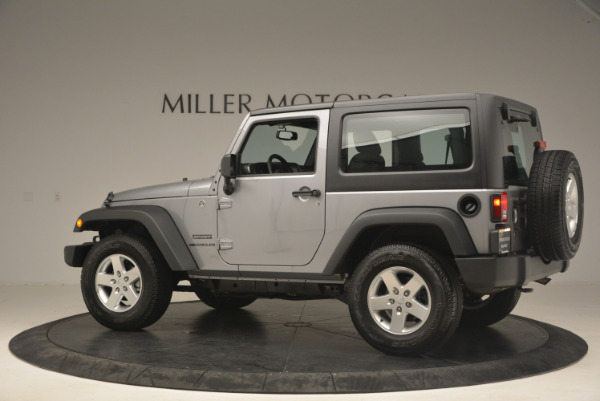 Used 2015 Jeep Wrangler Sport for sale Sold at Maserati of Greenwich in Greenwich CT 06830 4