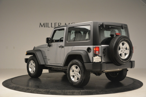 Used 2015 Jeep Wrangler Sport for sale Sold at Maserati of Greenwich in Greenwich CT 06830 5