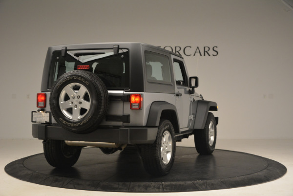 Used 2015 Jeep Wrangler Sport for sale Sold at Maserati of Greenwich in Greenwich CT 06830 7