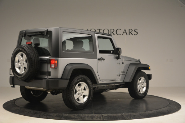 Used 2015 Jeep Wrangler Sport for sale Sold at Maserati of Greenwich in Greenwich CT 06830 8