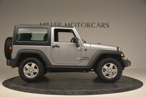Used 2015 Jeep Wrangler Sport for sale Sold at Maserati of Greenwich in Greenwich CT 06830 9