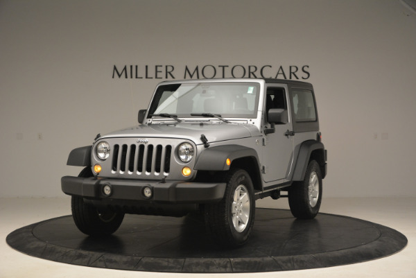 Used 2015 Jeep Wrangler Sport for sale Sold at Maserati of Greenwich in Greenwich CT 06830 1