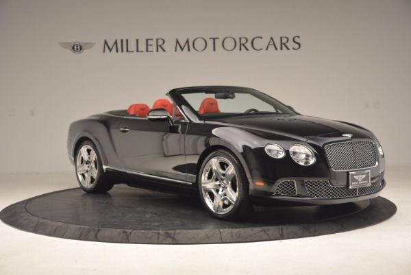 Used 2012 Bentley Continental GT W12 Convertible for sale Sold at Maserati of Greenwich in Greenwich CT 06830 10