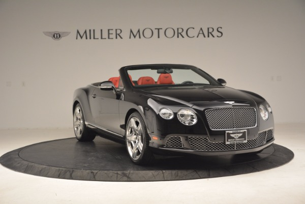 Used 2012 Bentley Continental GT W12 Convertible for sale Sold at Maserati of Greenwich in Greenwich CT 06830 11