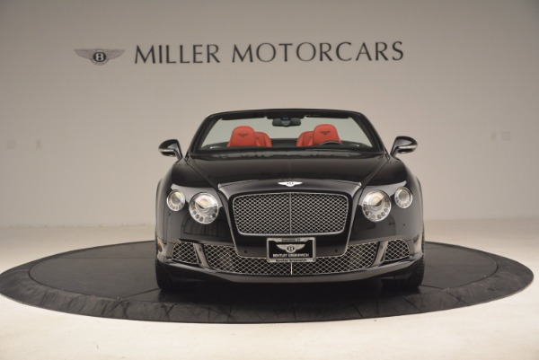 Used 2012 Bentley Continental GT W12 Convertible for sale Sold at Maserati of Greenwich in Greenwich CT 06830 12