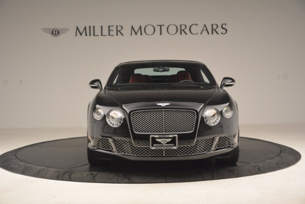 Used 2012 Bentley Continental GT W12 Convertible for sale Sold at Maserati of Greenwich in Greenwich CT 06830 13