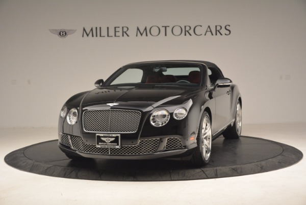 Used 2012 Bentley Continental GT W12 Convertible for sale Sold at Maserati of Greenwich in Greenwich CT 06830 14
