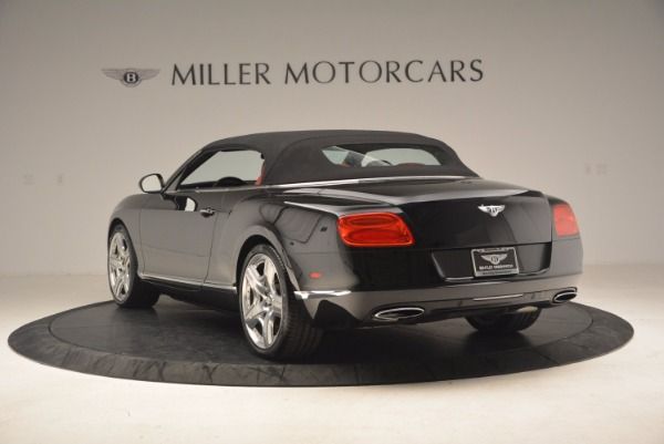 Used 2012 Bentley Continental GT W12 Convertible for sale Sold at Maserati of Greenwich in Greenwich CT 06830 18