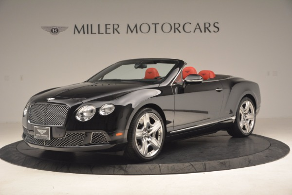 Used 2012 Bentley Continental GT W12 Convertible for sale Sold at Maserati of Greenwich in Greenwich CT 06830 2