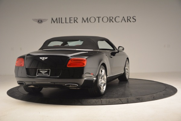 Used 2012 Bentley Continental GT W12 Convertible for sale Sold at Maserati of Greenwich in Greenwich CT 06830 20