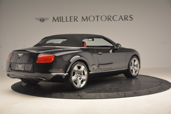 Used 2012 Bentley Continental GT W12 Convertible for sale Sold at Maserati of Greenwich in Greenwich CT 06830 21