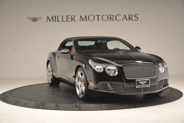 Used 2012 Bentley Continental GT W12 Convertible for sale Sold at Maserati of Greenwich in Greenwich CT 06830 24