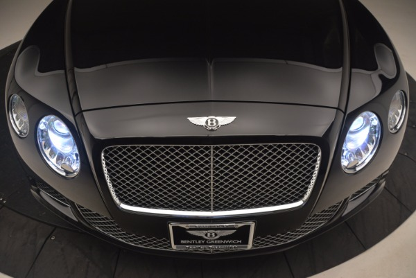 Used 2012 Bentley Continental GT W12 Convertible for sale Sold at Maserati of Greenwich in Greenwich CT 06830 26