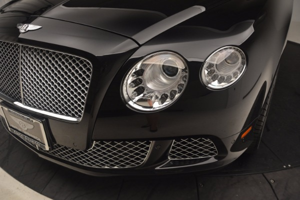Used 2012 Bentley Continental GT W12 Convertible for sale Sold at Maserati of Greenwich in Greenwich CT 06830 27