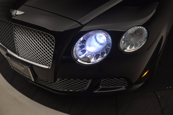 Used 2012 Bentley Continental GT W12 Convertible for sale Sold at Maserati of Greenwich in Greenwich CT 06830 28