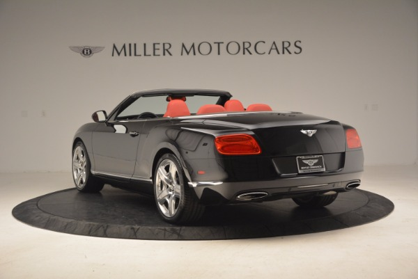 Used 2012 Bentley Continental GT W12 Convertible for sale Sold at Maserati of Greenwich in Greenwich CT 06830 5