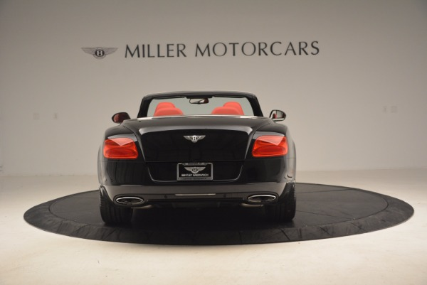 Used 2012 Bentley Continental GT W12 Convertible for sale Sold at Maserati of Greenwich in Greenwich CT 06830 6