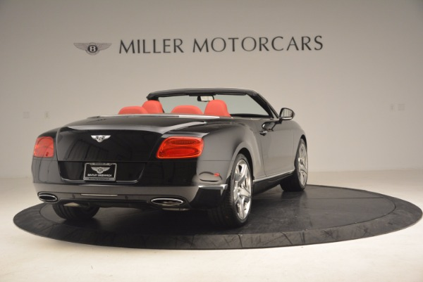 Used 2012 Bentley Continental GT W12 Convertible for sale Sold at Maserati of Greenwich in Greenwich CT 06830 7
