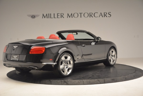 Used 2012 Bentley Continental GT W12 Convertible for sale Sold at Maserati of Greenwich in Greenwich CT 06830 8