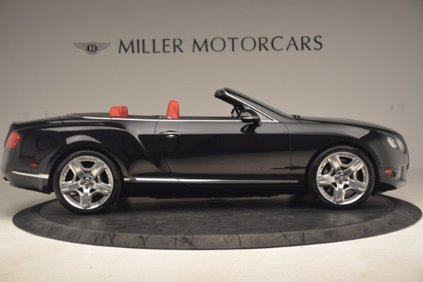 Used 2012 Bentley Continental GT W12 Convertible for sale Sold at Maserati of Greenwich in Greenwich CT 06830 9