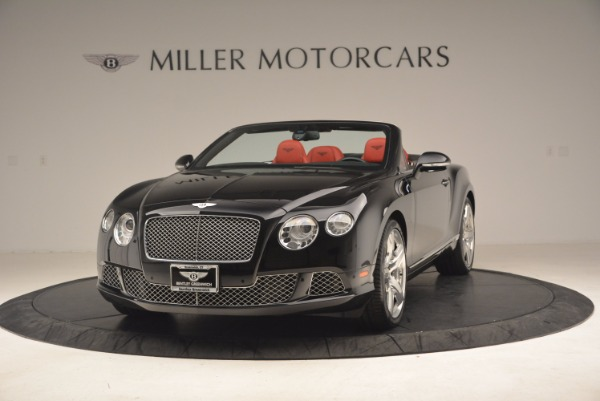 Used 2012 Bentley Continental GT W12 Convertible for sale Sold at Maserati of Greenwich in Greenwich CT 06830 1