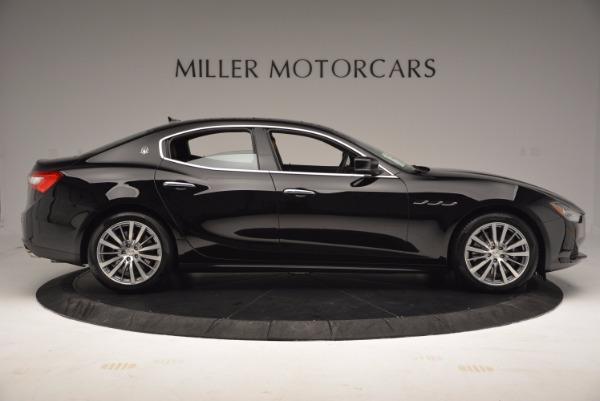 New 2017 Maserati Ghibli S Q4 EX-LOANER for sale Sold at Maserati of Greenwich in Greenwich CT 06830 9
