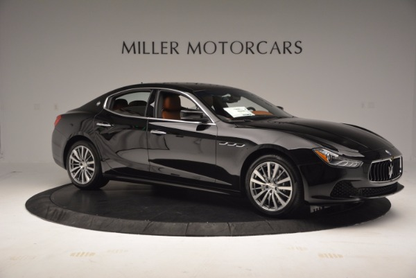 New 2017 Maserati Ghibli S Q4 EX-Loaner for sale Sold at Maserati of Greenwich in Greenwich CT 06830 10