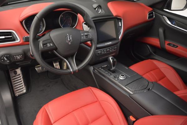 Used 2017 Maserati Ghibli S Q4 for sale $42,900 at Maserati of Greenwich in Greenwich CT 06830 13