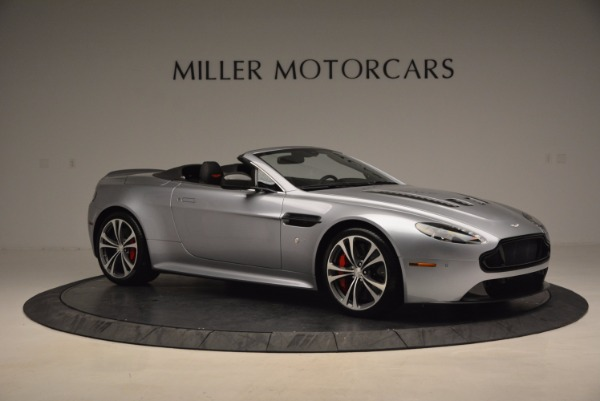 Used 2015 Aston Martin V12 Vantage S Roadster for sale Sold at Maserati of Greenwich in Greenwich CT 06830 10
