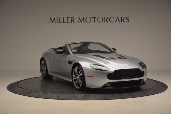Used 2015 Aston Martin V12 Vantage S Roadster for sale Sold at Maserati of Greenwich in Greenwich CT 06830 11