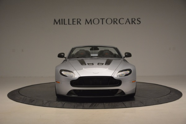 Used 2015 Aston Martin V12 Vantage S Roadster for sale Sold at Maserati of Greenwich in Greenwich CT 06830 12