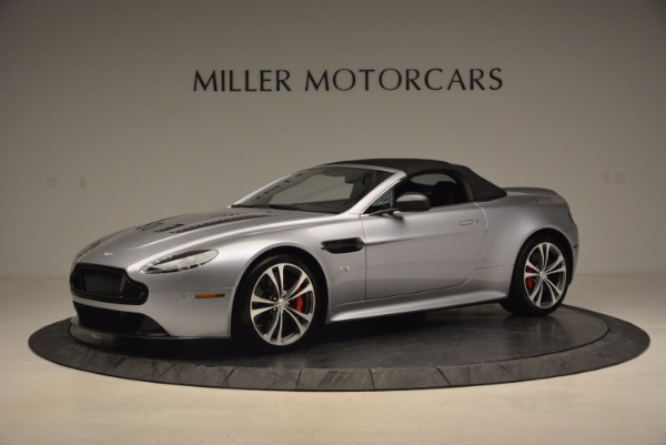 Used 2015 Aston Martin V12 Vantage S Roadster for sale Sold at Maserati of Greenwich in Greenwich CT 06830 14