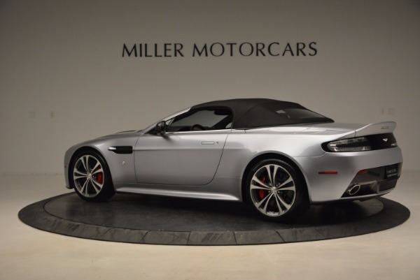 Used 2015 Aston Martin V12 Vantage S Roadster for sale Sold at Maserati of Greenwich in Greenwich CT 06830 16