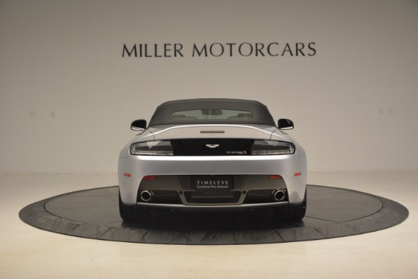 Used 2015 Aston Martin V12 Vantage S Roadster for sale Sold at Maserati of Greenwich in Greenwich CT 06830 18