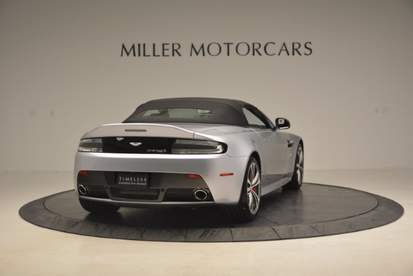 Used 2015 Aston Martin V12 Vantage S Roadster for sale Sold at Maserati of Greenwich in Greenwich CT 06830 19