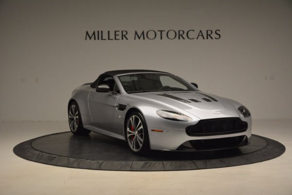 Used 2015 Aston Martin V12 Vantage S Roadster for sale Sold at Maserati of Greenwich in Greenwich CT 06830 23
