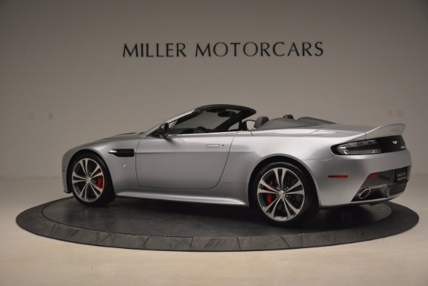 Used 2015 Aston Martin V12 Vantage S Roadster for sale Sold at Maserati of Greenwich in Greenwich CT 06830 4