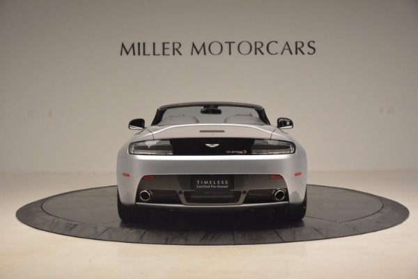 Used 2015 Aston Martin V12 Vantage S Roadster for sale Sold at Maserati of Greenwich in Greenwich CT 06830 6