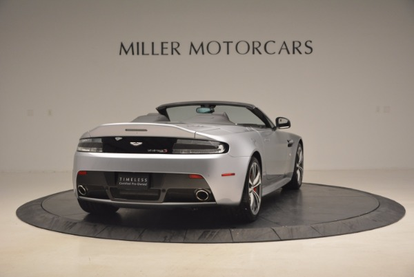 Used 2015 Aston Martin V12 Vantage S Roadster for sale Sold at Maserati of Greenwich in Greenwich CT 06830 7