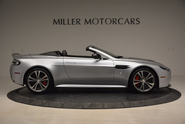 Used 2015 Aston Martin V12 Vantage S Roadster for sale Sold at Maserati of Greenwich in Greenwich CT 06830 9