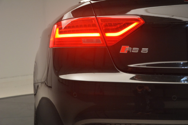 Used 2014 Audi RS 5 quattro for sale Sold at Maserati of Greenwich in Greenwich CT 06830 26